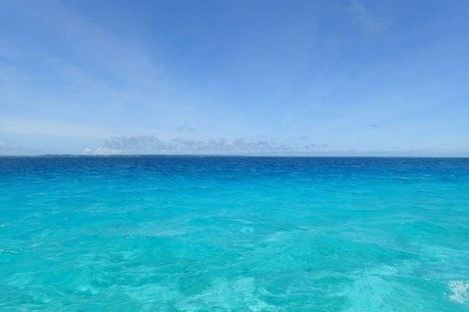 沖縄一綺麗と言われる青い海「宮古島」