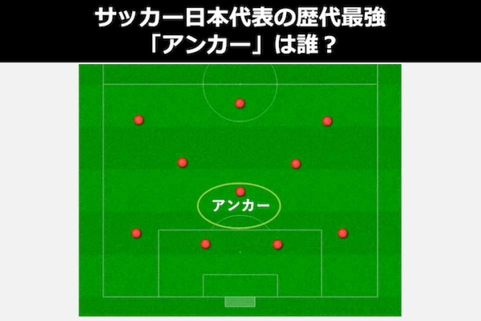 サッカー日本代表の歴代最強「アンカー」は誰?人気投票ランキング