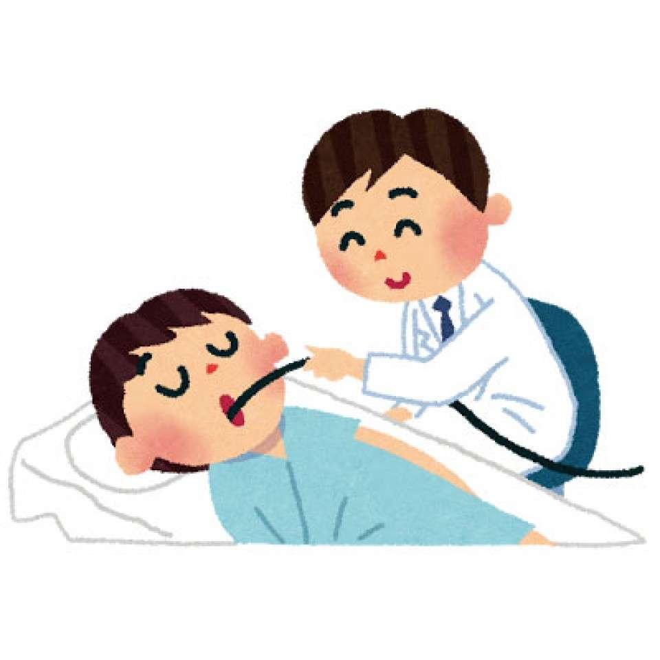 【バリウム vs 胃カメラ】胃カメラ検査