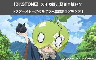 【Dr.STONE】スイカは、好き?嫌い?|ドクターストーンのキャラ人気投票ランキング!