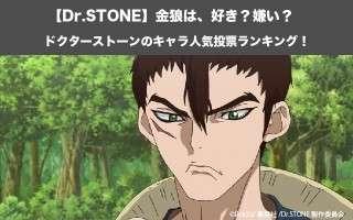 【Dr.STONE】金狼は、好き?嫌い?|ドクターストーンのキャラ人気投票ランキング!