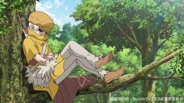 「ドクターストーン」西園寺羽京(さいおんじ うきょう)のキャラ紹介画像