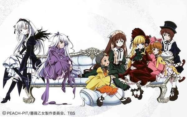 バトルファンタジーアニメ「ローゼンメイデン」の概要画像