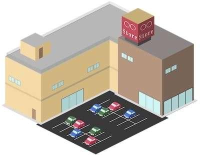 ショッピングモール型サービスの特徴画像