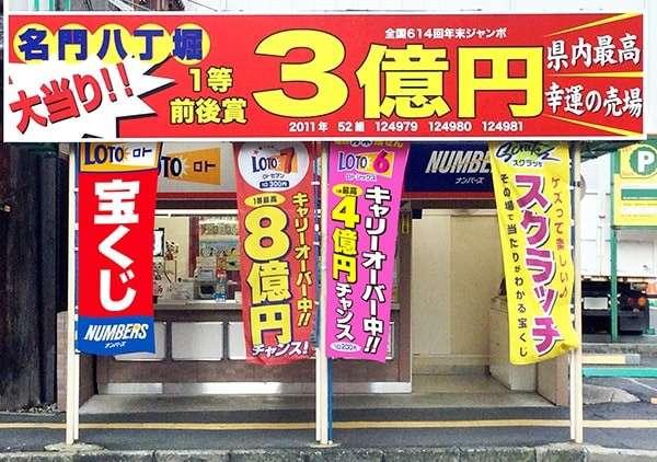 【宝くじ売り場 ランキング】広島:八丁堀チャンスセンター