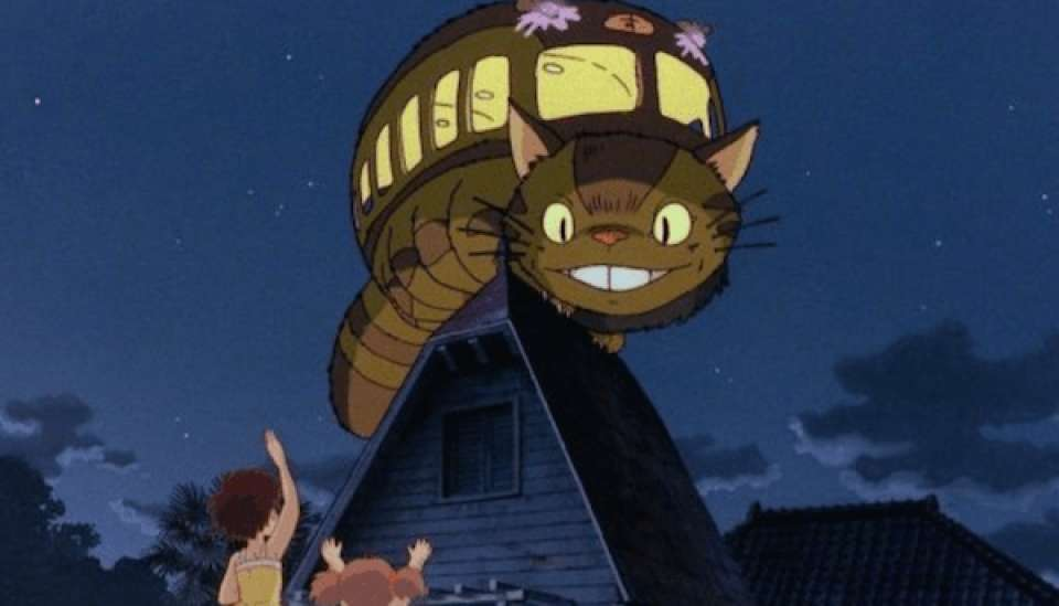 ネコバスの行き先は「巣(す)」