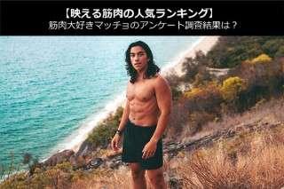 【映える筋肉の人気ランキング】筋肉大好きマッチョのアンケート調査結果は?