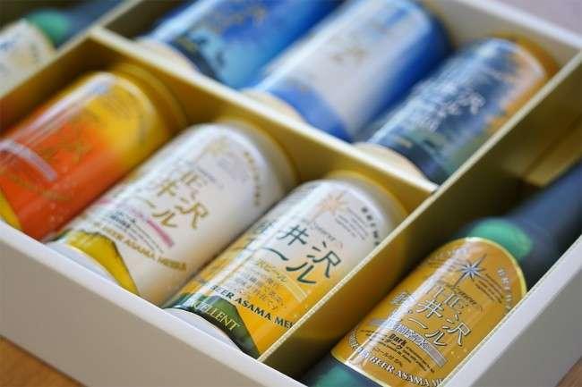 軽井沢ビールのおしゃれなパッケージ
