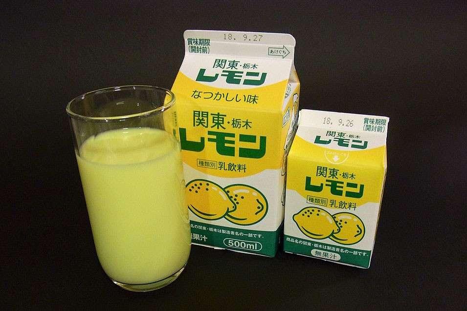 【レモン牛乳】の商品紹介
