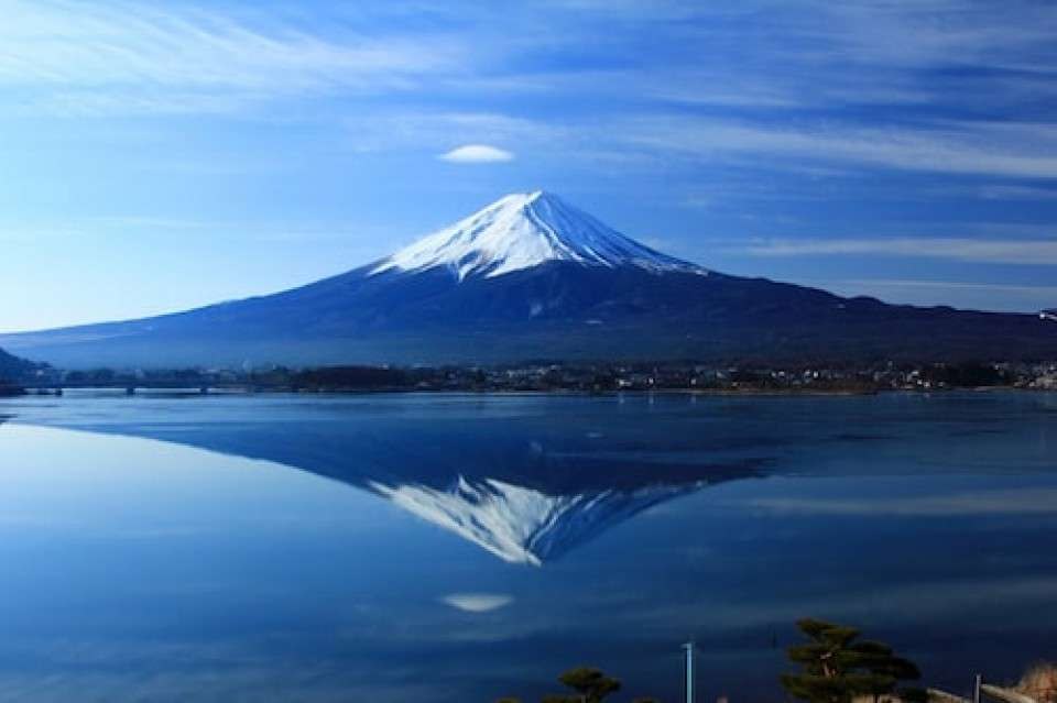 【山梨県】逆さ富士