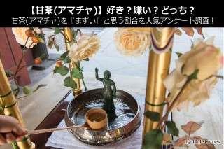 【甘茶(アマチャ)】好き?嫌い?どっち?甘茶(アマチャ)を『まずい』と思う割合を人気アンケート調査!
