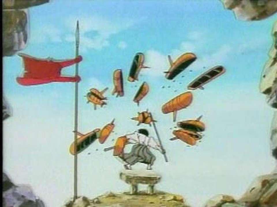 ミサイルを斬る石川五エ門