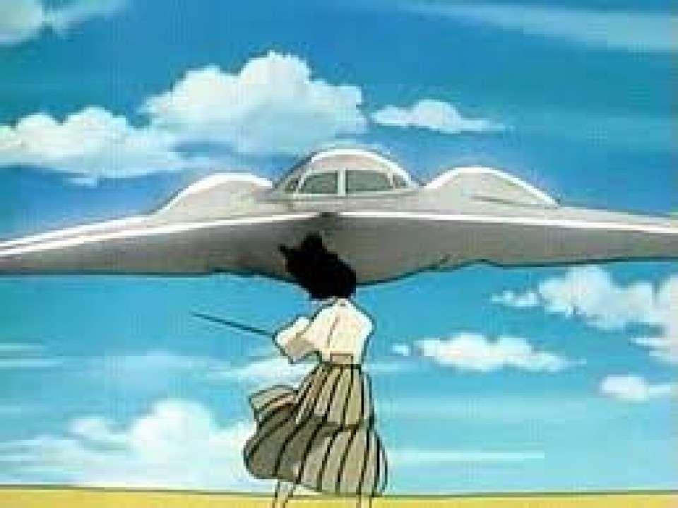 ステルス戦闘機を斬る石川五エ門