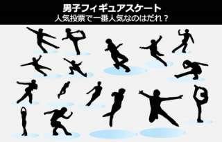 【男子フィギュアスケート】人気投票ランキング実施中!一番人気は誰?