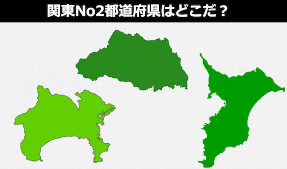 「神奈川vs千葉vs埼玉」の人気投票ランキング!関東No2都道府県はどこだ?