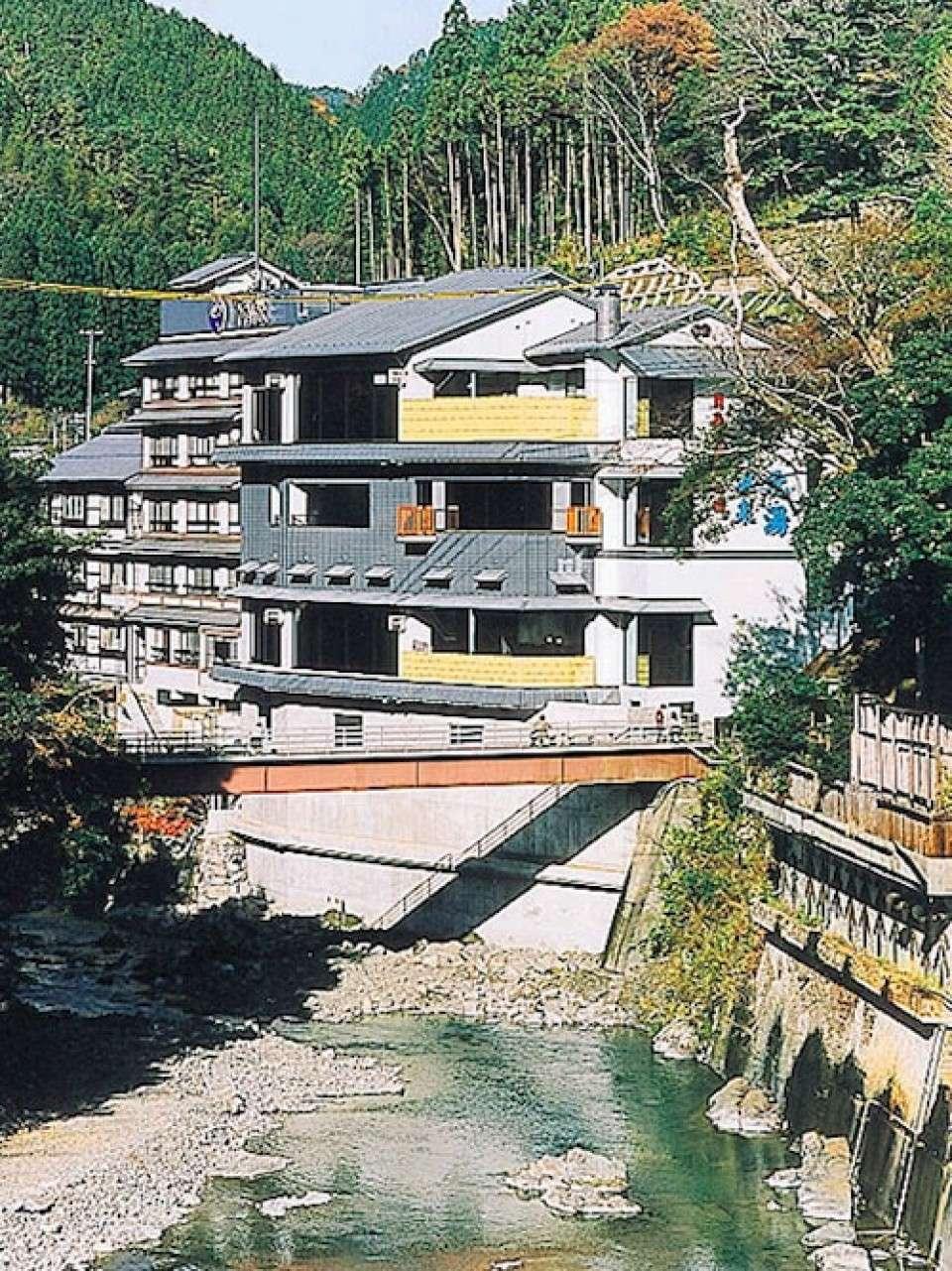 【アルカリ性の温泉】和歌山県龍神温泉の画像