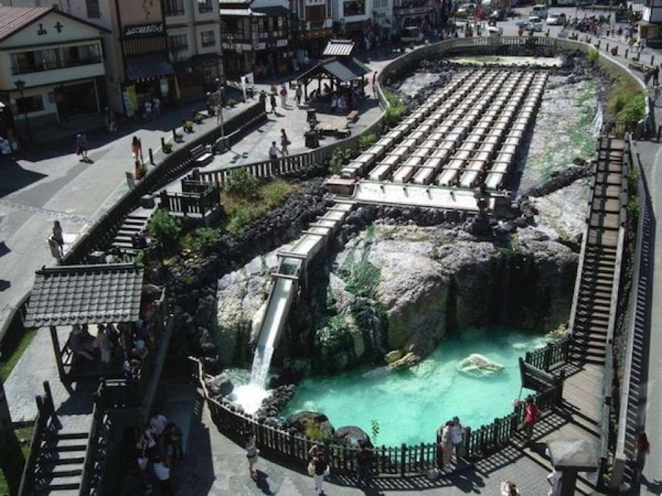 【酸性の温泉】群馬県草津温泉