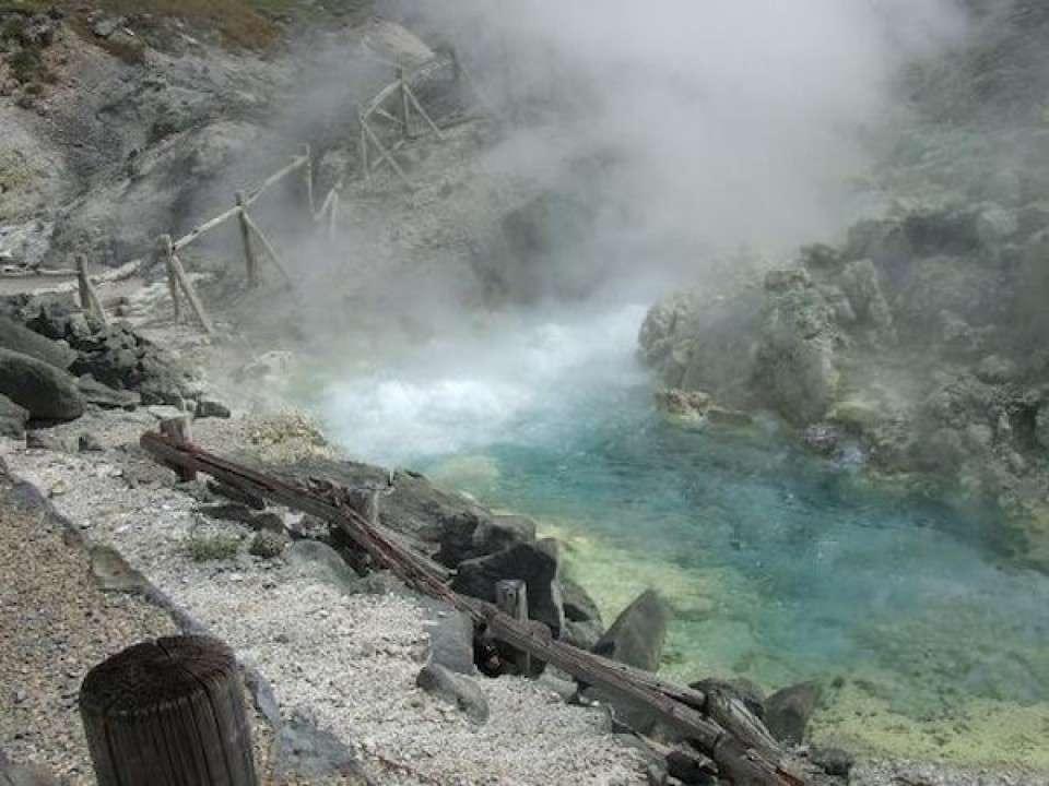 【酸性の温泉】秋田県玉川温泉の画像