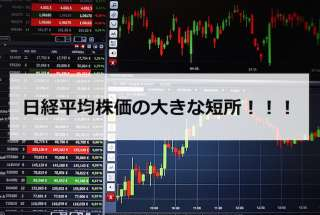 【株 初心者必見!】日経平均株価の大きな短所を理解しよう!