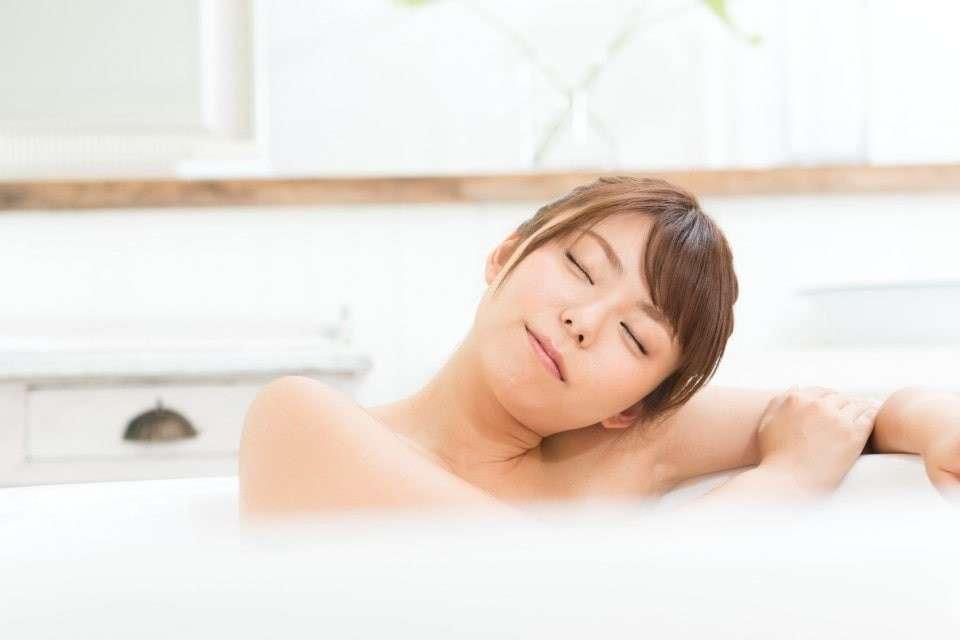 安眠のためには入浴にこだわる派の画像