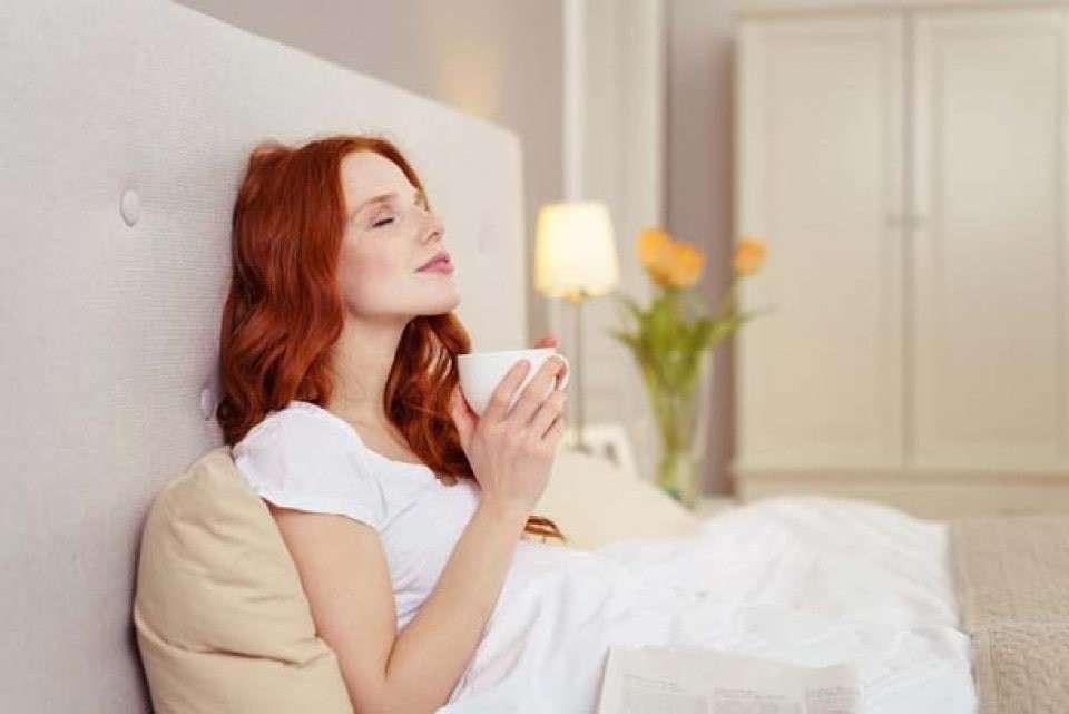 安眠のためには就寝前の飲み物にこだわる派の画像