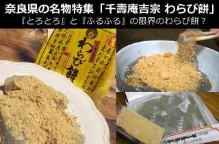 【奈良県のお土産・名物】東大寺・奈良公園で「千壽庵吉宗のわらび餅」は食べなきゃ損!