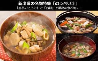 【新潟県のお土産・名物】新潟県の「のっぺい汁」は とろみ が一味違う!里芋とお餅でのっぺい汁に革命が!