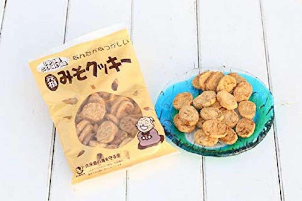 沖縄県の名物「元祖久米島のみそクッキー」