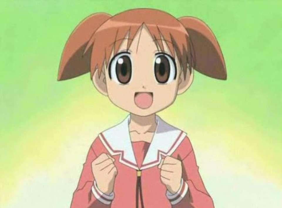 日常系萌えアニメ「あずまんが大王」-美浜ちよ(みはまちよ)のキャラクター紹介画像