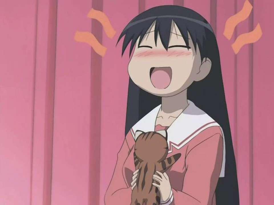 日常系萌えアニメ「あずまんが大王」-榊(さかき)のキャラクター紹介画像