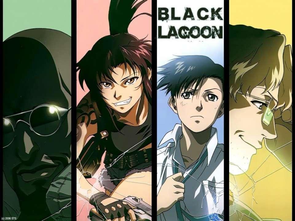 【BLACK LAGOON】人気投票ランキング!一番人気なキャラは誰だ!