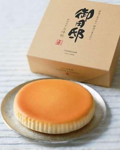 栃木県の名物「御用邸チーズケーキ」