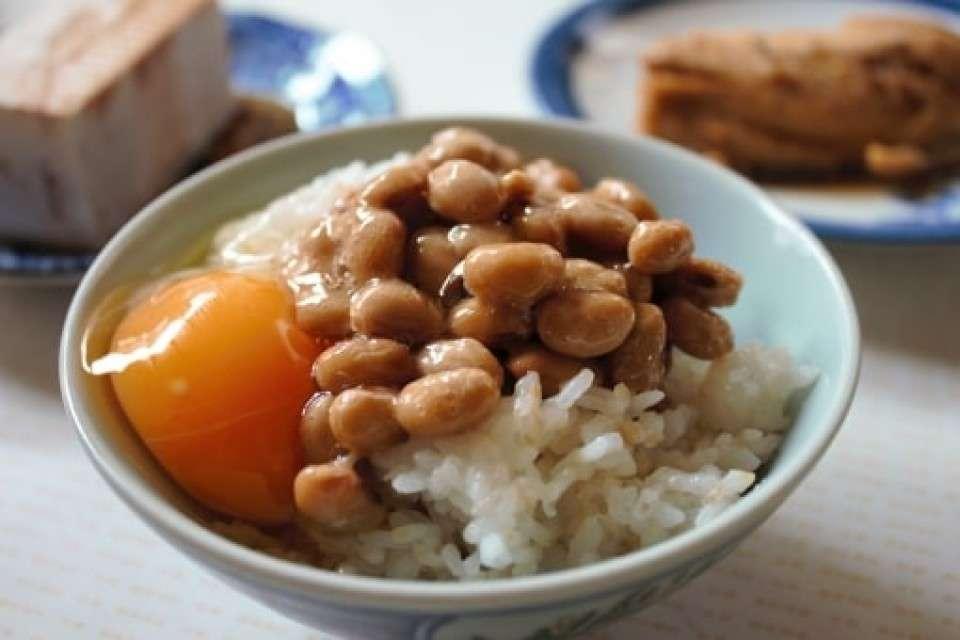 ご飯×生たまご×納豆
