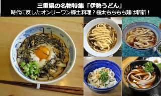 【伊勢うどん】美味しい?まずい?どっち?三重県伊勢名物の人気投票結果は?