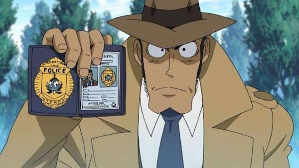 今ではおなじみのICPOの銭形警部