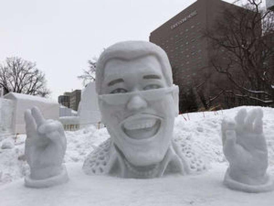 【さっぽろ雪まつり】歴代雪像「PPAP」画像