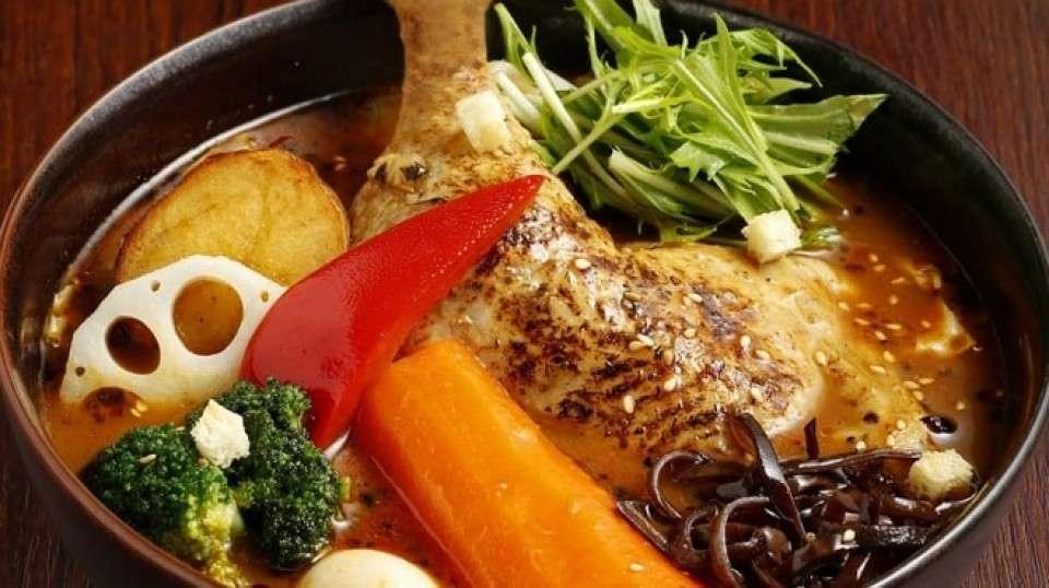 並んででも食べたいスープカレー『GARAKU』画像