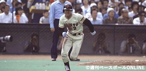 セ・リーグのシーズン盗塁記録「松本匡史」