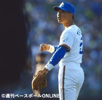 二塁手でゴールデングラブ賞を8度受賞「辻発彦」