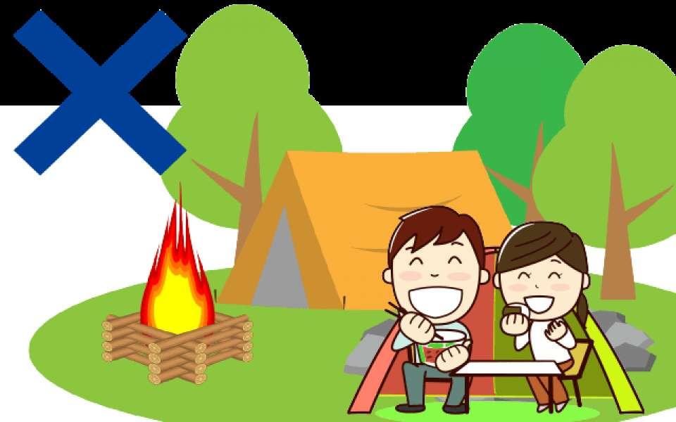 キャンプデートのデメリット…画像