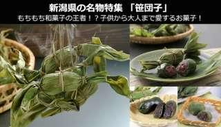 新潟名物【笹団子】美味しい?まずい?どっち?