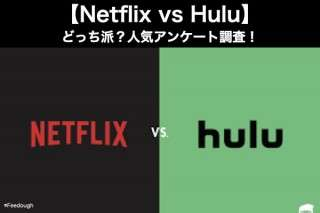 【Netflix vs Hulu】どっち派?