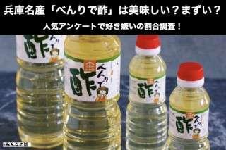 【べんりで酢】美味しい?まずい?どっち?