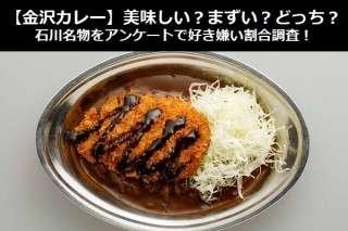 【金沢カレー】美味しい?まずい?どっち?