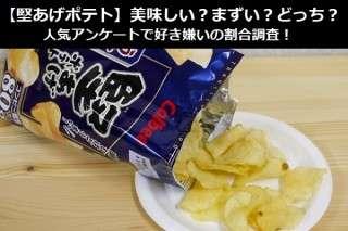 【堅あげポテト】美味しい?まずい?どっち?