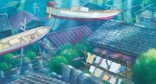【崖の上のポニョ】宗介の街が海のそこに沈んでしまった理由は?